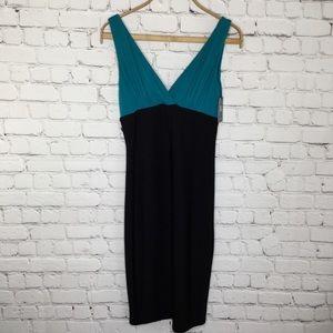 Tart Teal & Black Dress